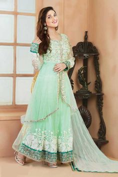 Online Shopping for s8007_Beautiful Lightgreen Wedding | Salwar Suit | Unique Indian Products by styleofsurat - MSTYL26038889870