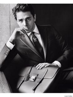Xavier Dolan chic et classe pour Louis Vuitton