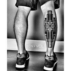 Geometric Tattoo by Ben Volt