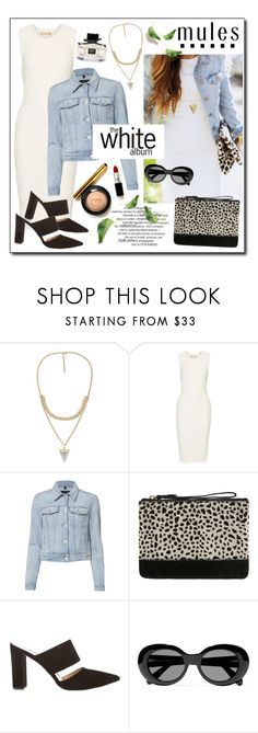 """""""White Dress!"""" by diane1234 ❤ liked on Polyvore featuring Michael Kors, J Brand, Accessorize, Mint Velvet, Acne Studios and Gucci"""