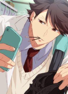 Oikawa Tooru   Haikyuu!   ♤ #anime ♤