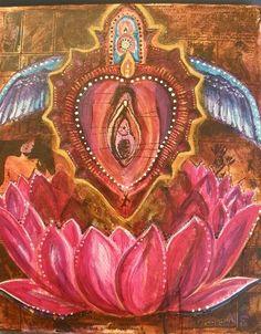 Sacred Yoni Heart