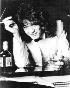 Photo of Eddie for fans of Eddie Van Halen 29904556 Eddie Van Halen, Alex Van Halen, Great Bands, Cool Bands, Wolfgang Van Halen, Van Hagar, Big Hair Bands, Music Pics, 80s Music