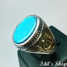 Authentic Turkish Ottoman Style Handmade 925 Sterling by IdilsShop, $80.00