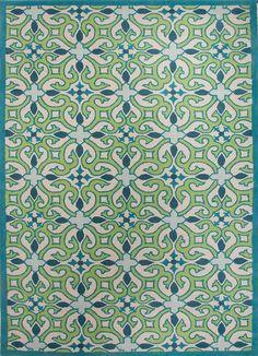 Capri hand-tufted wool rug