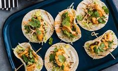 The recipe for tempura prawn tortillas is featured in Luke Mangan's Sharing Plates, Murdoch Books, out in May