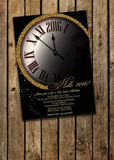 Hey, I found this really awesome Etsy listing at https://www.etsy.com/listing/258443935/new-years-new-years-eve-invitation-new