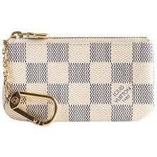 8b0e759aa647 Key pouch damier azur £110. Gabrielle Vargas · PURSE · Louis Vuitton  Graffiti.