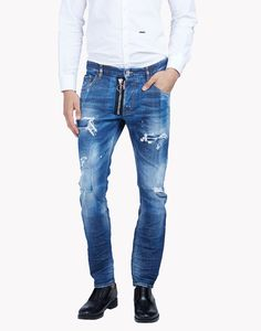 Skater Distressed Jeans