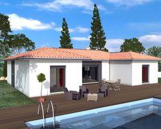 Création d\'une maison d\'habitation en briques thermiques et ses ...