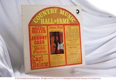 #CountryMusic Hall of Fame Greatest Country & Western Hits #JohnnyCash #JimmyDean @Etsy http://etsy.me/1yAIN3A