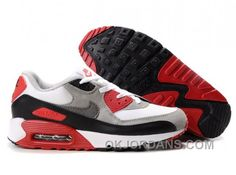 wholesale dealer 9c538 c6dfb Nike Air Max 90 Womens Black Red Grey White For Sale 8HhzF, Price   74.00 -  Jordan Shoes - Michael Jordan Shoes - Air Jordans - Jordans Shoes