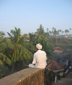 Kerala, my in laws used to live on the border of Kerala and Tamil Nadu. This reminds me of the view from our bedroom...