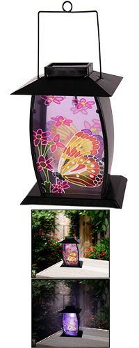 Butterfly Solar Lantern at The Animal Rescue Site ~$15.00