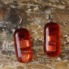Glass Earrings Oakheart