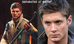 Separated at Birth?  Alex Shephard vs Dean Winchester