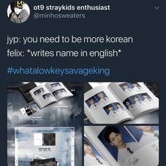 53 Ideas Memes Kpop English Stray Kids For 2019 - Stray Kids - Info Korea Shinee Memes, Bts Memes, Funny Kpop Memes, English Handwriting, Felix Stray Kids, Nct, How To Stop Procrastinating, Crazy Kids, Lee Know