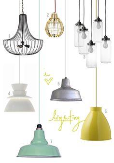 pendant lighting fixtures