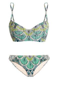 Mara Hoffman Feather-Print Bikini #athletic