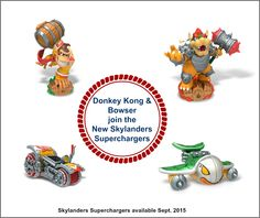 2 New Characters added to Skylanders Supercharges for September Debut