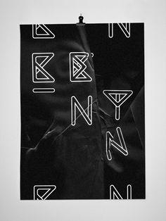 BENT font