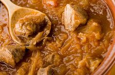 Healthy Stuffatina Alla Romana (Roman Beef Stew)