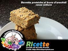 Barrette proteiche senza cottura al burro di arachidi