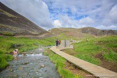 Donde disfrutar gratis de aguas termales en Islandia