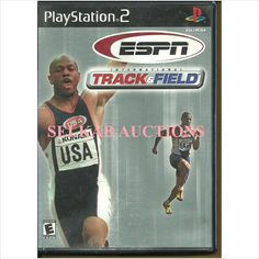 ESPN International Track And Field Play Station 2 Video Game disc PS2 NTSC Used 083717200017 on eBid Canada
