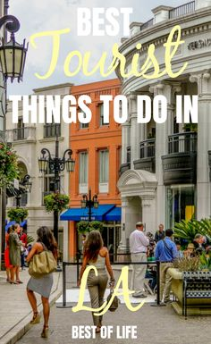 There are many tourist things to do in LA that gives the city life, gives the locals things to do, and make visitors feel like they're center stage. Best Things to do in LA | Best Tourist Activities in LA | What to do in LA #LA #travel #thingstodo #LAfun