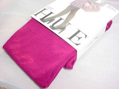 Hue Super Opaque with Control Top Tights Size 2 Berry Purple NEW NWT USA #HUE #Tights Seller florasgarden on ebay