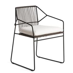Oasiq | SANDUR Armchair Seat & Back Woven expensive (500+ per), knockoff possibly? OUTDOOR CHAIR