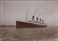 Titanic Deaths, Rms Titanic, Sailing Ships, Olympics, Sisters, Journey, Steamers, Cruise Ships, Oceans