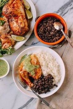 I'll start this post by saying that this Peruvian Chicken with Green Sauce Recipeis probably in my Top 10 list of all-time favorite chicken recipes. (I'm the only person in the world mentally keeping track of/ranking exceptional ways to cook chicken, but I think I'm okay with that.) The magic of this recipe occurs on …