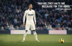Cristiano Ronaldo Quotes Wallpaper