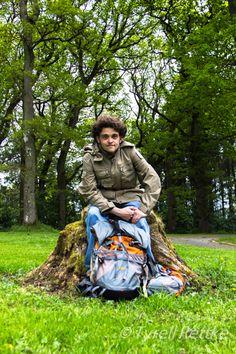 Ty Rettke rocking his SCOTTEVEST Expedition Jacket on his world trek!