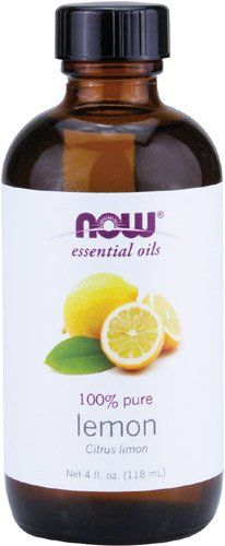 Now Foods Essential Oil, Lemon, 4 Fluid Ounce ** Additional info at Baking Ingredients board Essential Oil For Ibs, Lemon Body Scrubs, Homemade Dishwasher Detergent, Lemon Oil, Scented Oils, Food Now, Natural Cleaning Products, List, Baking Ingredients