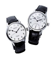 and are mechanical dress watches made in Japan, combining enameled dials that never fade away even after 100 years and the design concept by the Japanese product designer, Riki Watanabe. Stylish Watches, Watches For Men, Seiko Presage, Hand Watch, Watch Companies, Seiko Watches, Omega Watch, Cool Designs, Tetsu
