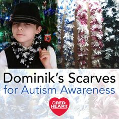 Dominik's Scarves for Autism Awareness