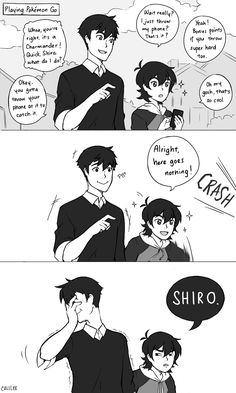 Am I the only one who thinks that Shiro and Keith from Voltron Legendary Defender are a lot like Tadashi and Hiro from Big Hero they areeeee Voltron Comics, Voltron Memes, Voltron Fanart, Form Voltron, Voltron Ships, Voltron Klance, Shiro Voltron, Dreamworks, Big Hero 6