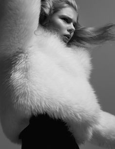Alexandra Elizabeth by Benjamin Lennox for Interview Magazine Germany October 2015