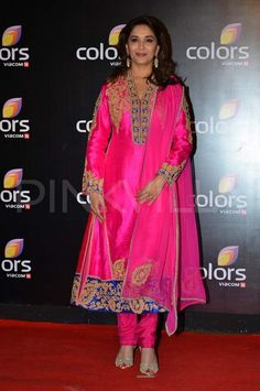 Madhuri Dixit at Colors' party