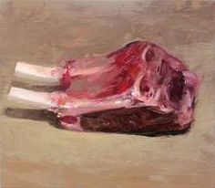 Scott Conary : small, humble oil paintings done in one sitting - vegetables, fruit, meat, and tools... for now.