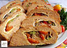 Meatloaf, Tacos, Pork, Ethnic Recipes, Pork Roulade, Pigs
