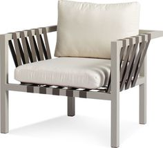 Modern outdoor furniture designed by Blu Dot includes the Jibe Outdoor Lounge Chair. Contemporary Outdoor Lounge Chairs, Modern Outdoor Furniture, Outdoor Sofa, Home Furniture, Outdoor Living, Furniture Chairs, Rustic Furniture, Modern Patio, Outdoor Seating