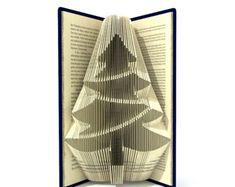 Book folding pattern CHRISTMAS ANGEL 183 par SimplexBookFolding