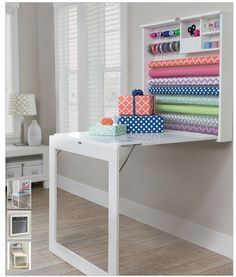 Zulily: Fold Down Gift Wrap Table from We are Memory Keepers Only $179.99! (Reg. $299) - Freebies2Deals