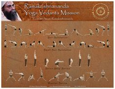 free Asana yoga poster chart download