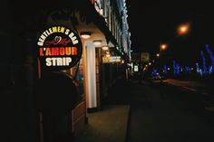 China town strip bar Moscow 2014