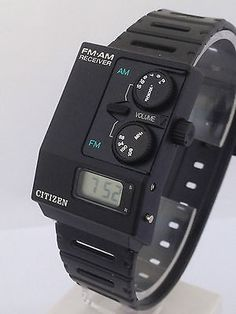CITIZEN RARE  RADIO WATCH